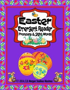 Easter - Emergent Reader. CCS Aligned.