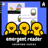 Easter Emergent Reader: Counting Chicks