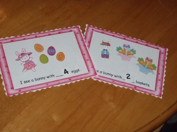 Easter Emergent Reader Sticker Story