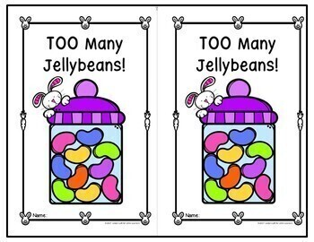 Easter Emergent Reader: Too Many Jellybeans