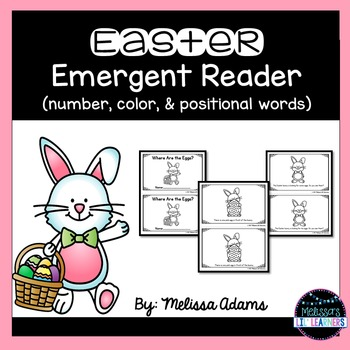 Easter Emergent Reader-Where Are The Eggs?