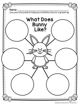 Easter Emergent Reader Bunny, Bunny, What Do You Like?