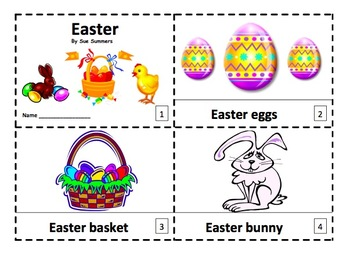 Easter Emergent Readers 2 Booklets - ENGLISH