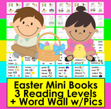 Easter Activities:  Readers Differentiated with 3 Levels +