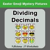 Easter Emoji: Dividing Decimals - Color-By-Number Mystery
