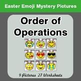 Easter Emoji: Order Of Operations - Color-By-Number Myster