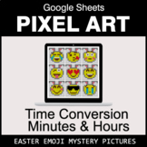Easter Emoji: Time Conversion: Minutes & Hours - Google Sh