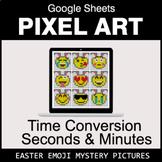Easter Emoji: Time Conversion: Seconds & Minutes - Google