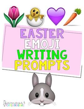 Easter Emoji Writing Prompt