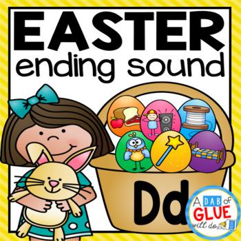 Easter Ending Sound Match-Ups
