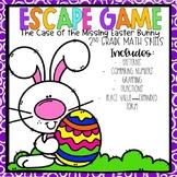 Easter Escape Room 2nd grade Math Skills