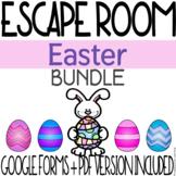 Easter Escape Room Activity - BUNDLE