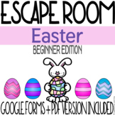 Easter Escape Room Activity - Beginner Edition