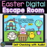 Easter Escape Room, Breakout Activity Digital Boom Cards D