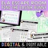 Easter Escape Room | ELA Escape Room | Test Prep | Digital