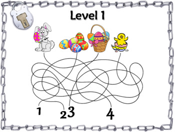 Easter Escape Room Math: Least Common Multiple Game 4th 5th 6th 7th Grade