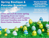 Easter Event Flyer