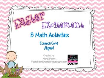 Easter Excitement {10 Math Activities}