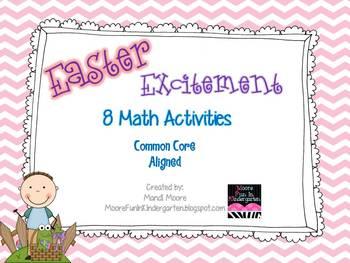 Easter Excitement {10 Math Activities}