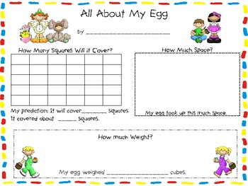 Easter Experiment Freebie: Jelly Bean Jumble & All About My Egg