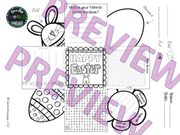 Easter Exploding Box craft card fun