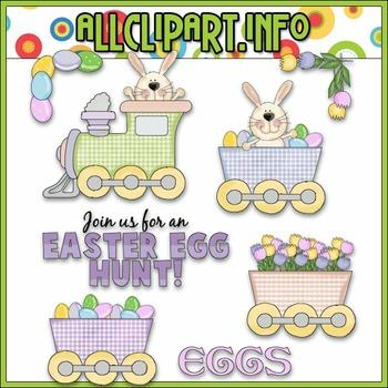 Easter Express Clip Art - Cheryl Seslar Clip Art