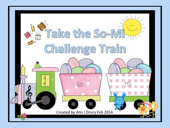 Easter Express - Take the So-Mi Listening Challenge Train