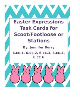 Easter Expressions Algebra Review