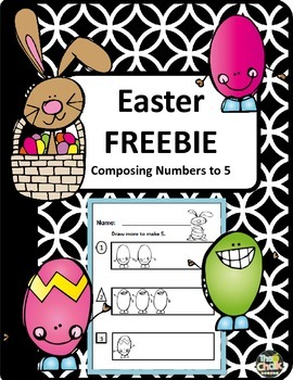 Easter FREEBIE - Composing Numbers to 5