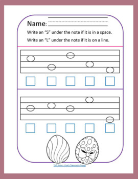 Easter FREEBIE | Primary Music Printables | Music Theory 3-Pack