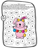 Easter FREEBIE ~  Roll, Add, & Color ~ Partner Dice Game