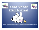 Easter FUN With 2-Step Equations