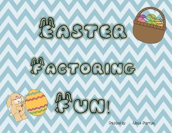 Easter Factoring Fun!