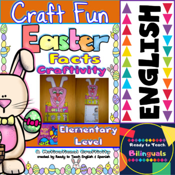 Easter Facts - Craft Activity - for Elementary Level (Color and b&w)
