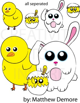 Easter Family - Color Pack 1