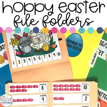 Easter File Folder Activities for Special Education