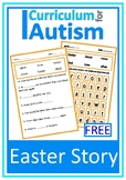 Easter Fill In The Blanks Word Search Puzzle Autism Special Education