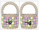 Easter-Fill You Basket Word Families