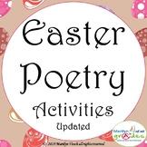 Easter Poetry Worksheets,Activities