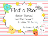 Easter Find A Star Reward System for Online ESL Teaching