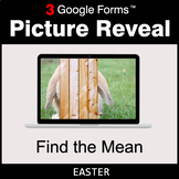 Easter: Find the Mean - Google Forms Math Game | Distance