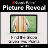 Easter: Find the Slope Given Two Points - Google Forms Mat