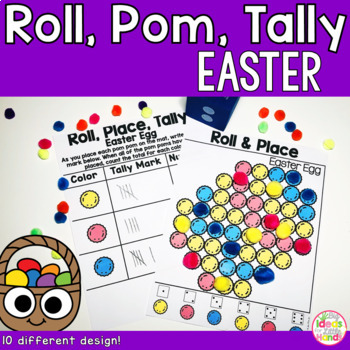 Easter Fine Motor Counting Activity