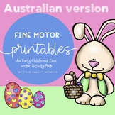 Easter Fine Motor Fun Activity Pack - A4 size