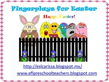 Easter Fingerplay