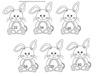 Easter First Grade Math Skills