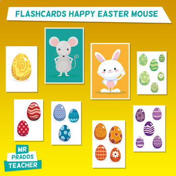 Easter Flashcards - learn colors and numbers