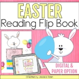 Easter Activities Reading Flip Book with Google Classroom Distance Learning