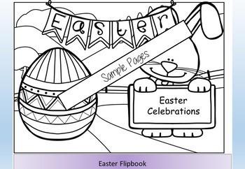 Easter Flipbook of Activities