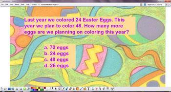 Easter Flipchart Math